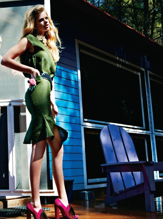 Valerie van der Graaf For Vogue Hellas May 2012
