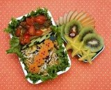 Roasted Halibut Bento