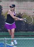 Reese Witherspoon showed off her backhand.