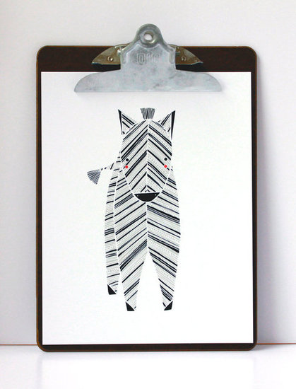Gingiber Zeek Zebra ($20)
