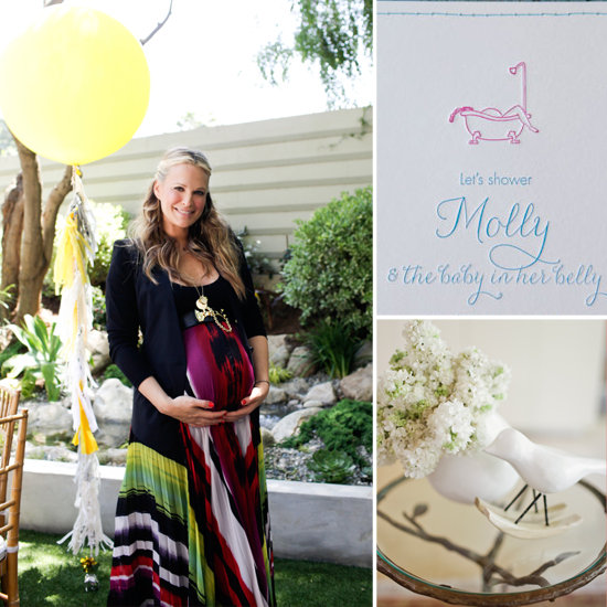 An Inside Look at Molly Sims's Baby Shower