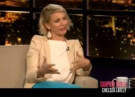 "Cameron Diaz Talks About Getting ""Knocked Up"" With Chelsea Handler"