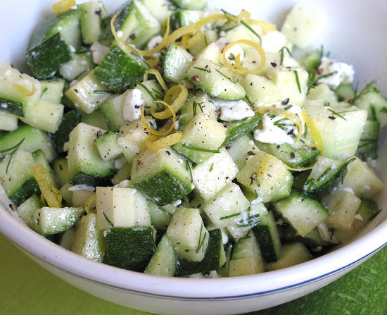Zucchini and Feta