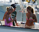 Jessica Simpson hung out with friends in Cabo San Lucas in May 2004.