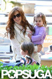 Isla Fisher carried Elula Cohen.