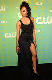 Kat Graham showed a little leg.