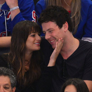 Lea Michele and Cory Monteith Kissing Pictures