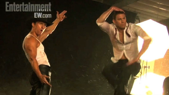 "Video: Channing on Matthew's Dance Mishap — ""They Ripped His Thong Off!"""
