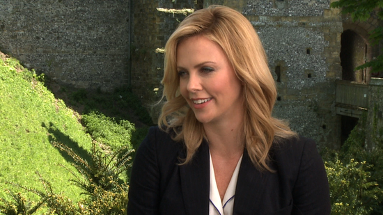 Video: Charlize Theron on Shocking SWATH and Wanting More Time With Kristen Stewart