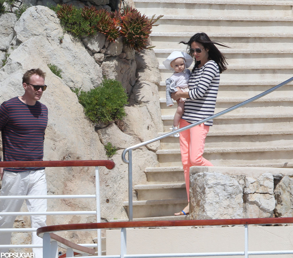Jennifer Connelly Totes Little Agnes to the Sunny Cannes Film Festival