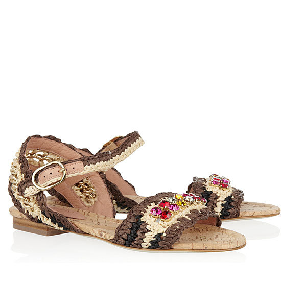 Embellished Sandals Spring 2012