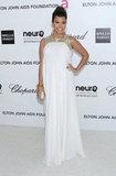 Kourtney Kardashian's Oscar-Ready White Night