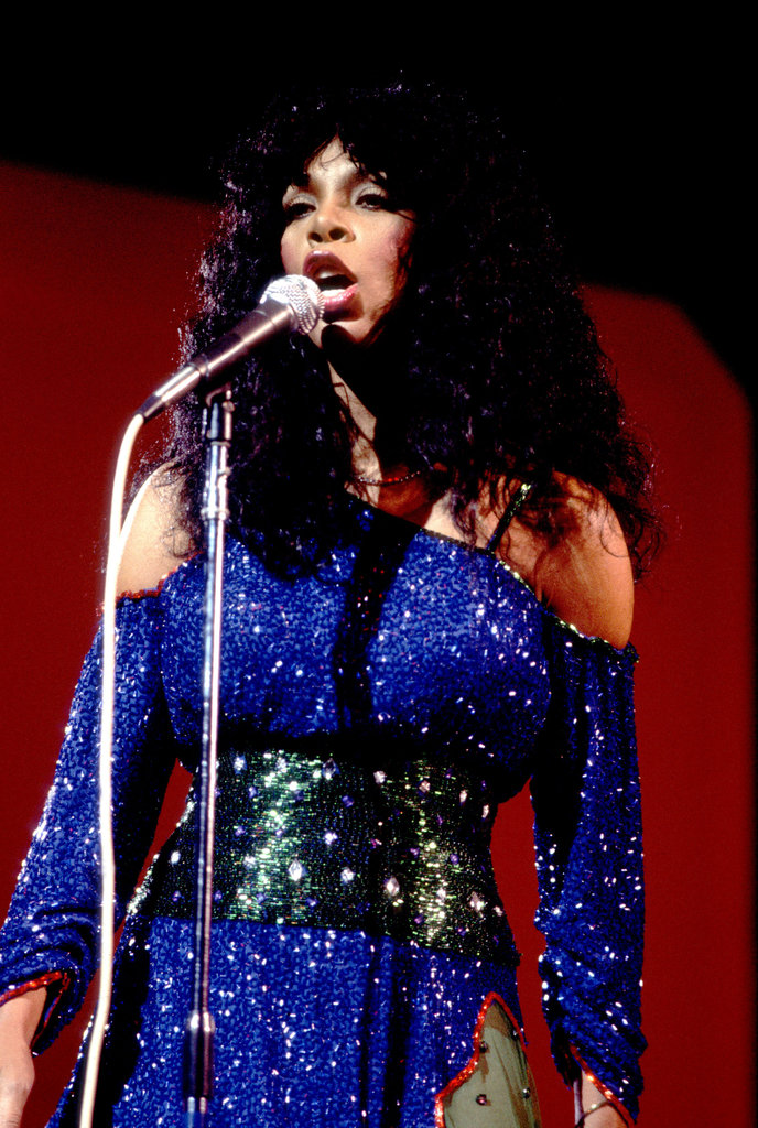 Donna Summer looks perfectly disco in 1983.