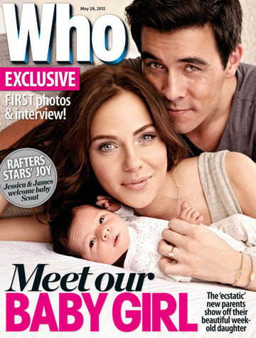 See the First Picture of Jessica Marais and James Stewart's Baby Girl, Scout!