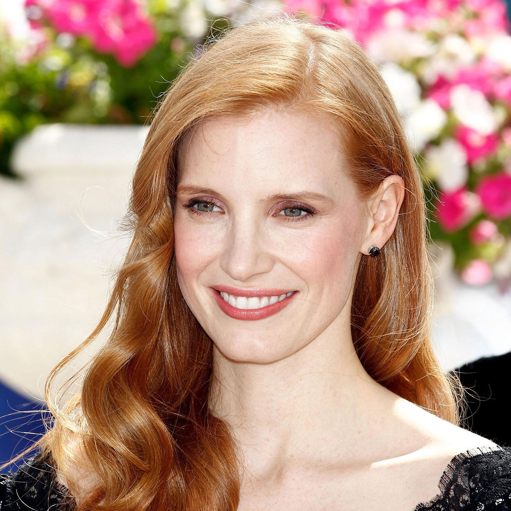 Jessica Chastain at the Madagascar 3 Photo Op