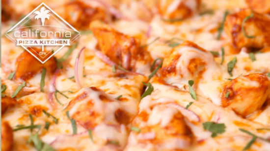 Get the Dish: California Pizza Kitchen's BBQ Chicken Pizza
