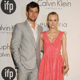Diane Kruger and Joshua Jackson Cannes Pictures