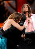 Jennifer Lopez gave Joshua Ledet an emotion hug after his American Idol elimination.