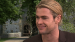Video: Chris Hemsworth on Fighting Kristen Stewart and Showing Skin For SWATH