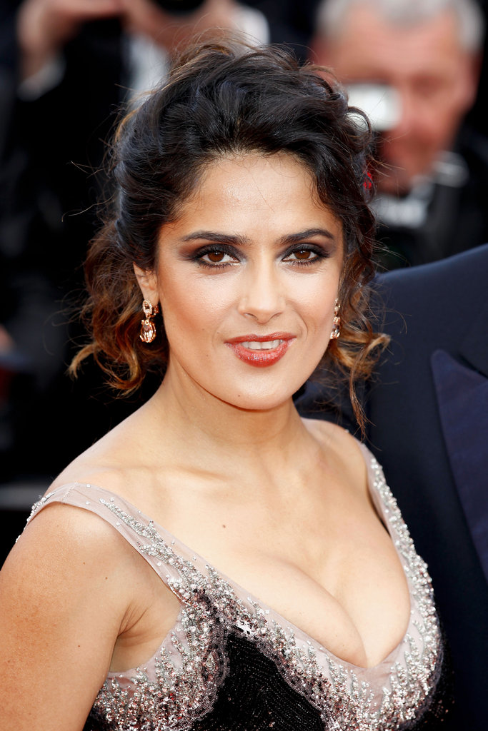 Salma Hayek looked stunning at the premiere of Madagascar 3: Europe's Most Wanted.