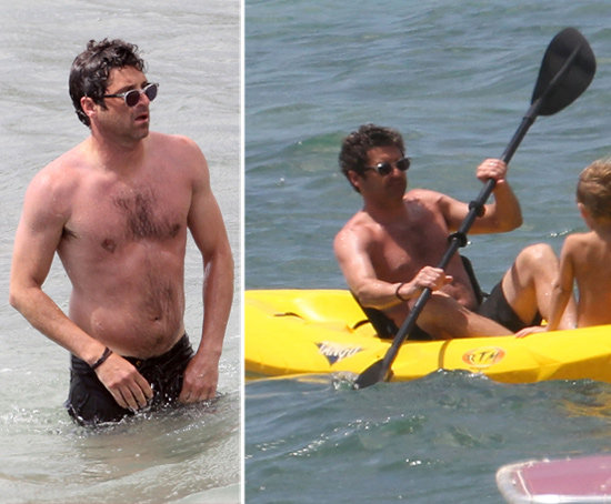 Shirtless Patrick Dempsey Cools Down Following a Shocking Grey's Finale