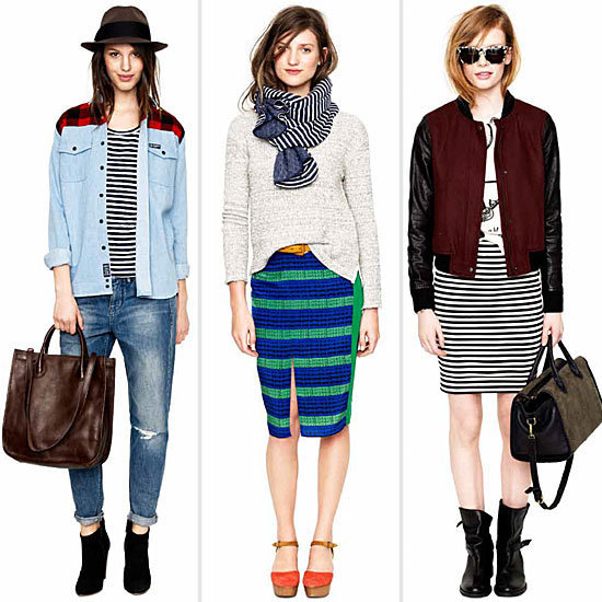 Sneak peek! Madewell's girl goes woodsy and tomboy-cool for Fall 2012.