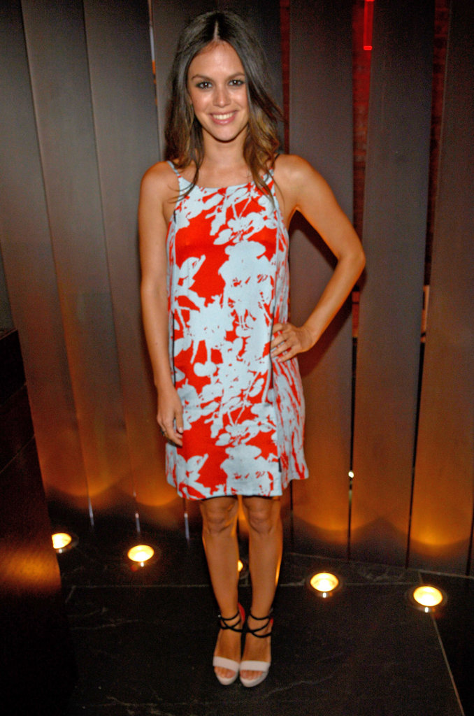 Rachel Bilson stepped out in Summer-perfect 3.1 Phillip Lim florals at CW's Upfront Party.