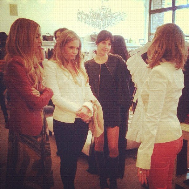 Rachel Zoe helped style up customers at her Forward by Elyse Walker shopping party in LA this year.