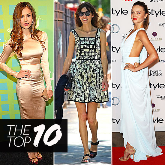 Fab's Top 10 Celebrity Looks of the Week — Nina, Alexa, Miranda, and More!