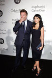 Alec Baldwin and fiancée Hilaria Thomas attended the Women in Film celebration.