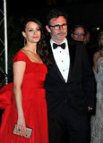 Bérénice Bejo and Michel Hazanavicius posed together.