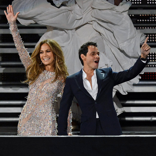 Jennifer Lopez and Marc Anthony in Las Vegas Pictures