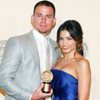 Channing Tatum and Jenna Dewan Peabody Award Pictures