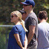 Reese Witherspoon Pictures Pregnant at Deacon's Game