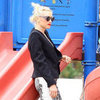 Gwen Stefani Beach Pictures With Kingston and Zuma
