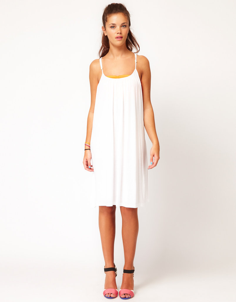 Layer a swimsuit with this easy frock. Vila Strappy Jersey Dress ($32)