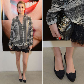 Whitney Port's Scarf Print Shirt Is What We Want Now: Steal Her Style and Shop Similar Via Shopstyle Australia