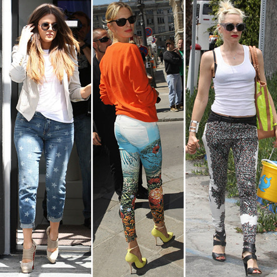 Celebs Love Funky-Print Jeans — 4 Pairs to Jazz Up Your Legs Now!
