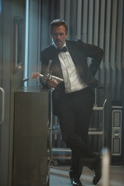 Hugh Laurie on House. Photo courtesy of Fox