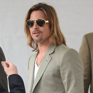 Brad Pitt in Cannes