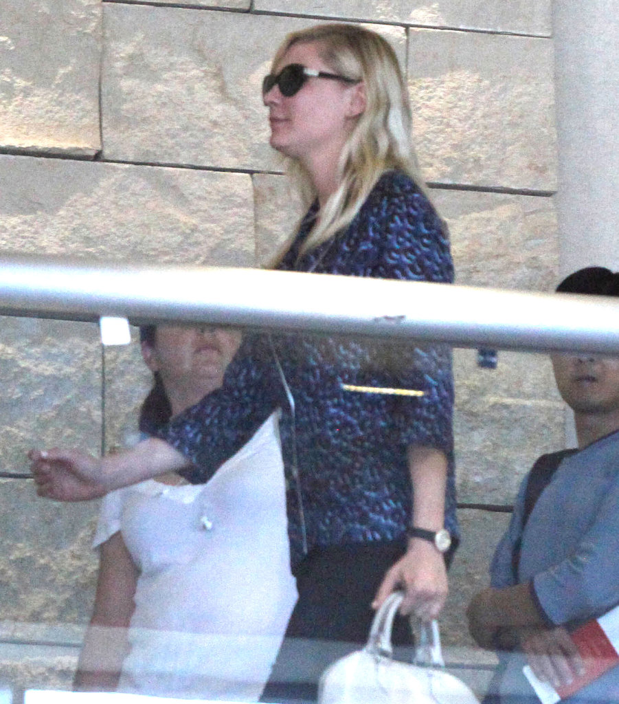 Kirsten Dunst was at LAX.