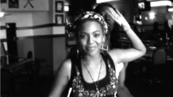 Video: See Beyoncé Talk Smack During a Competitive Pool Game!