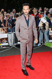 Rodrigo Santoro looked handsome in a suit at the What to Expect When You're Expecting premiere in London.