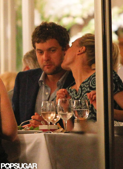 Diane Kruger and Joshua Jackson went to dinner in Cannes.
