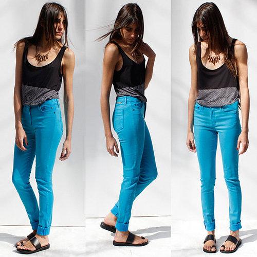 Shopping For THVM Blue Jeans