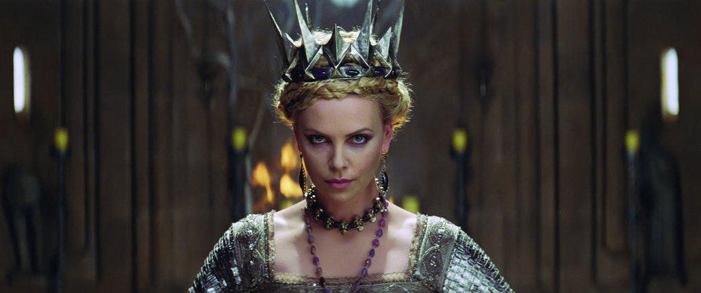 Spiky points on Ravenna's crown indicate that she's not to be trifled with. Photo courtesy of Universal Pictures