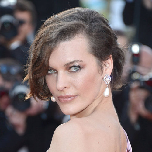Milla Jovovich at the On the Road Premiere