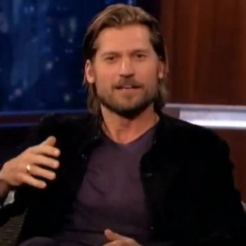 Nikolaj Coster-Waldau Game of Thrones Kimmel Interview