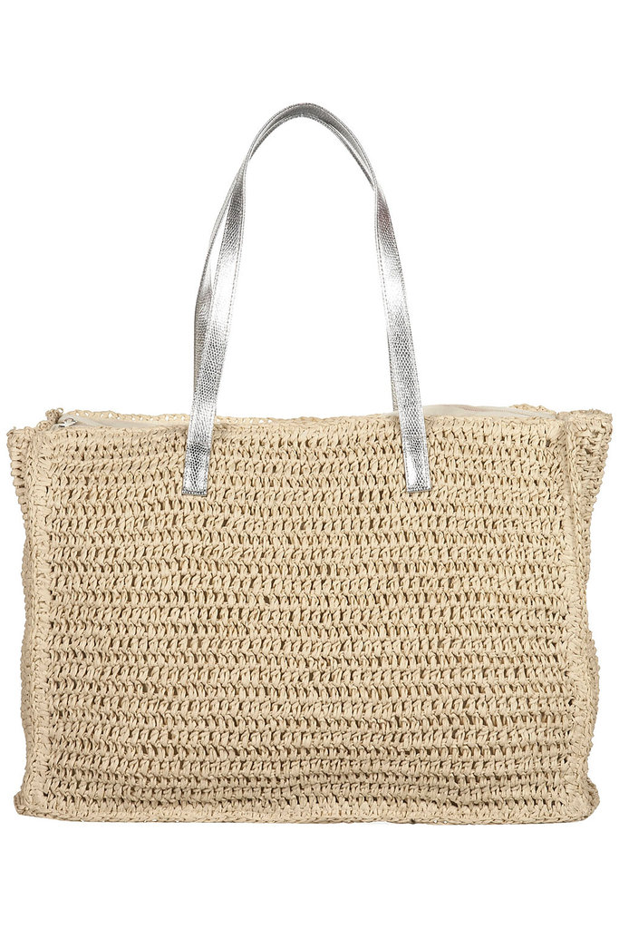We love that this tote boasts a flash of metallic — a style that would look just as chic alongside your work wear as it would for a beachy getaway. Topshop Large Straw Tote Bag ($64)