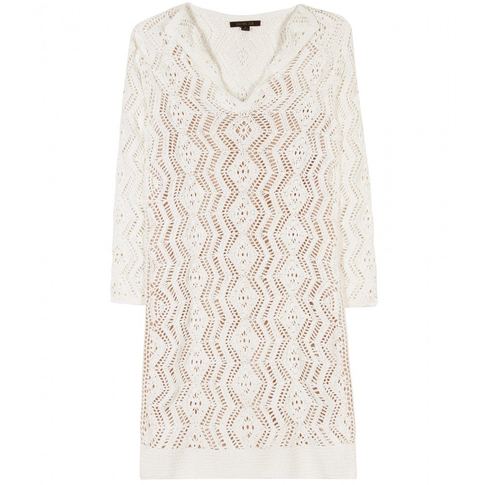 Throw this crochet dress on over your bikini for an instant dose of boho-chic. Rachel Zoe Sloane Crochet-Knit Dress ($605)